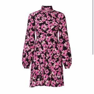 Kate Spade Pink Wallflower Smocked Dress